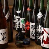 豊富な日本酒が2,000円(税抜)で2時間飲み放題◎