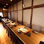 【貸切】2階/テーブル席 最大15~20名様で貸切利用OK!