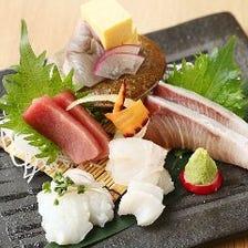 豊洲直送!旬の鮮魚で四季を堪能