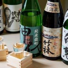 ◆バラエティに富んだ日本酒をご用意