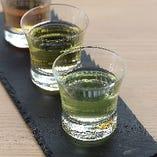日本茶3種飲み比べ