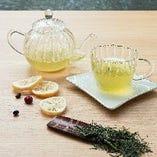 煎茶×フルーツフレーバー
