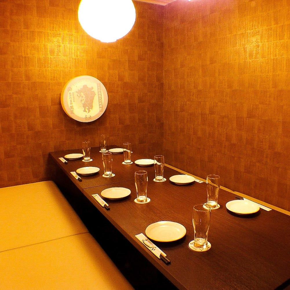 プライベート空間でお食事を愉しむ!