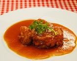 本日のメイン料理 (肉または魚)