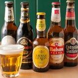 スペインビール各種 ¥770~