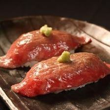 大好評!!肉寿司!