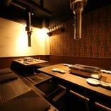 少人数から団体様までゆったり寛いでご利用可能な宴会個室!