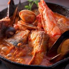 魚介を豪快に仕上げた個性派料理たち