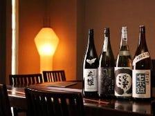 訪れるたびに変わる日本酒の品揃え