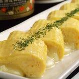 チーズ出汁巻き玉子