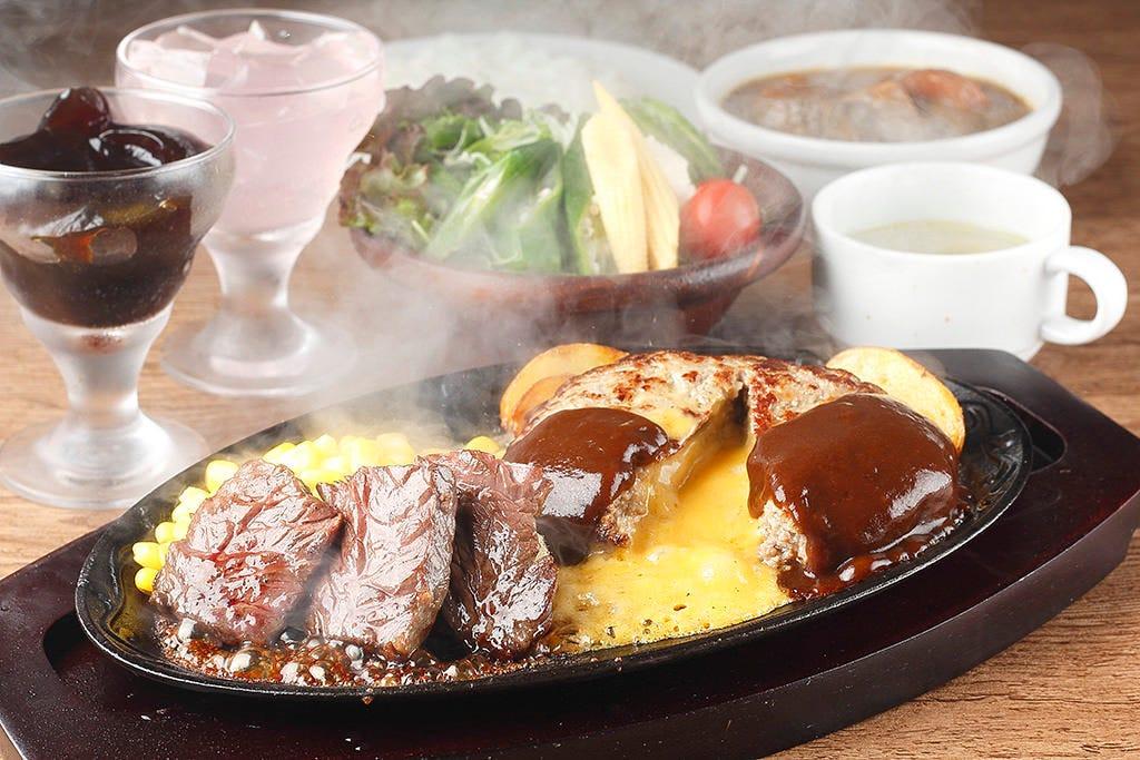 肉汁たっぷりの極上部位ステーキ!