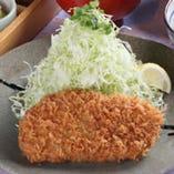 やまと豚ロースかつ定食(中) <1,760円>