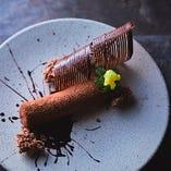 様々なチョコレートのバリエーション -ムース、アイス、スパイラル‐