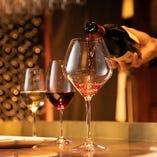 グラスワインを豊富にご用意