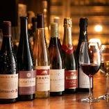 100種以上のワインをご用意しています