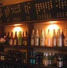 絶品料理に合うお酒の種類も豊富