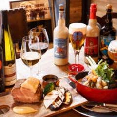 ベルギービール デリリウムカフェ GINZA コースの画像