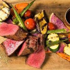 格之進、黒毛和牛門崎熟成肉の部位売