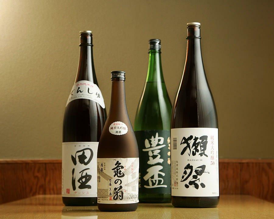 ◆懐石料理を引き立てる自慢の厳選酒