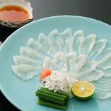 季節を感じられる旬の食材を使った 職人の技が光る本格懐石料理