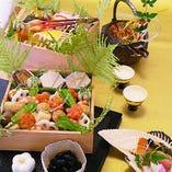 懐石料理の味を新年から自宅で! 本格おせち三段重ございます