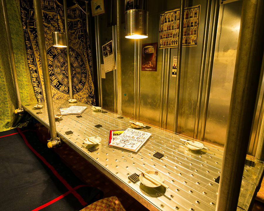 この空間で毎晩毎晩たのしい飲み会が行われてます!10~15名まで