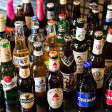 40種類の世界のビールあります!
