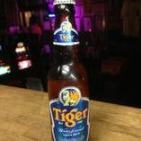 タイガービール  シンガポール