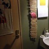 和テイスト女性トイレ!!土足で入っていいですよ♪