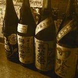 名誉唎酒師を持つ店主厳選の日本酒が楽しめる!