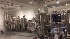 テレビや新聞で話題のビール工場!