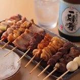 串焼きにぴったりな焼酎あります!20種以上☆ボトルキープも出来ます!グラス90ml400円~
