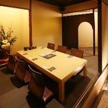 6名様用の完全個室