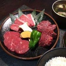 黒毛和牛の焼肉ランチ定食☆