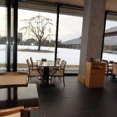 富山県水墨美術館 カフェ「北斗」