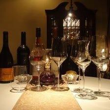 ◆300種類以上の厳選ワイン