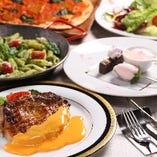 燻製マリアージュをお楽しみ頂ける4500円~のコース料理!!