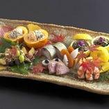 職人による技術こそのあざやかな嗜好の料理をお楽しみください