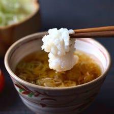 [個室][夏限定]京都の夏味「鱧 はも」とブランド豚 食べ比べ出汁しゃぶコース 5,000円