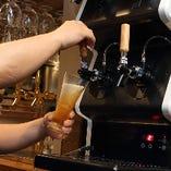 タップでご提供するクラフトビールを是非、当店でご堪能ください
