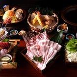 番屋自慢のコース料理!飲み放題付き 3,500円~!