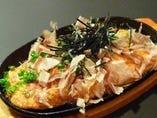 やまてつ(山芋の鉄板焼)