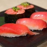 【まぐろ三昧にぎり寿司】