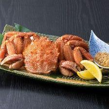 北海道から☆浜茹での毛蟹☆タラバ蟹