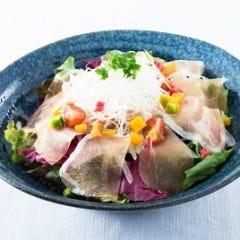 生ハム野菜サラダ