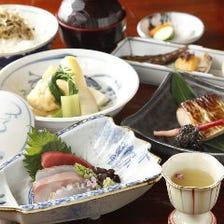ランチ会席【檜】3月は新筍、山菜、鰆をお楽しみください 大事なご接待・お食事会に是非