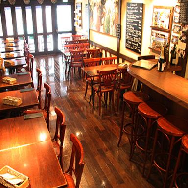 ブレッツカフェ クレープリー 銀座店  店内の画像