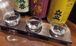 日本酒飲み比べセット(3種980円)
