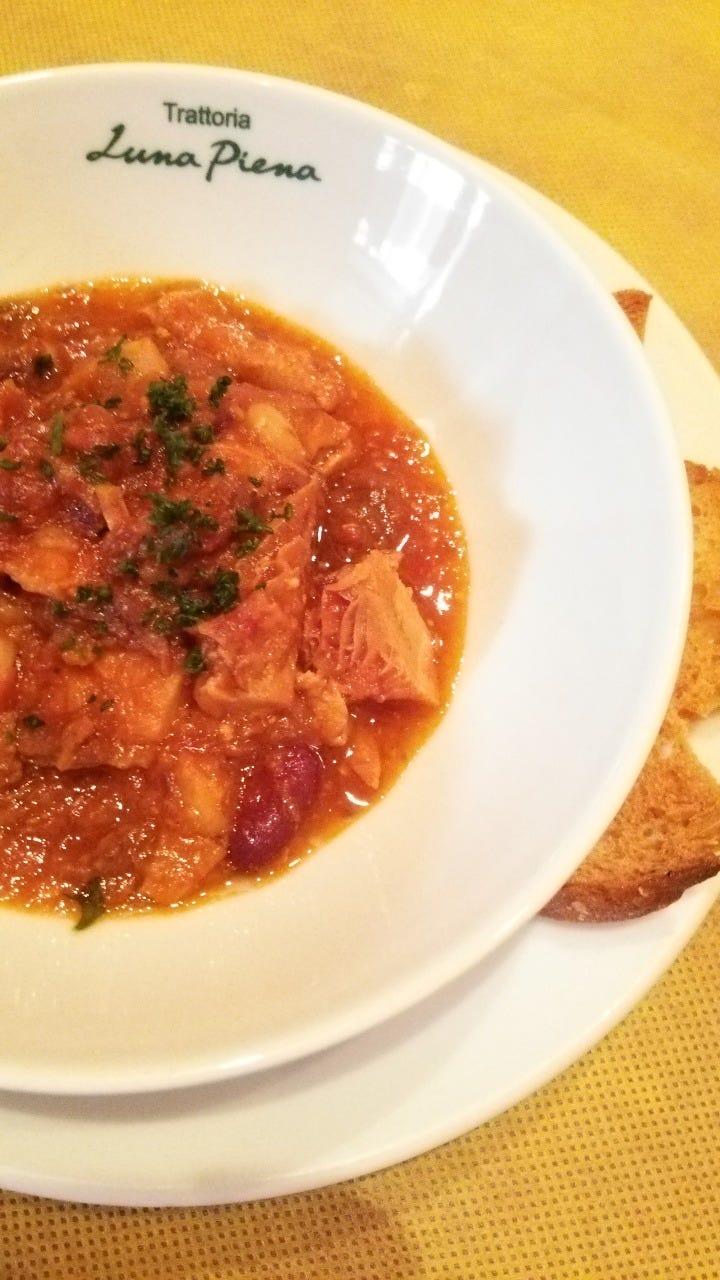 トリッパ・豚ガツ・牛スジ・豆の柔~らかトマト煮込み