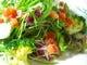 たっぷりとお野菜が入ったミックスサラダ。モリモリいきましょう